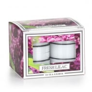 Fresh Lilac 12 Scented Tea Lights