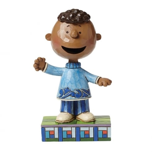 Jim Shore - Peanuts Friendly Franklin Figurine