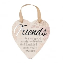 Friends Hanging Heart