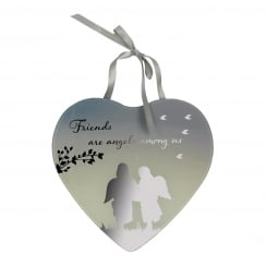 Friends Mirror Plaque
