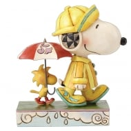 Friends Through Rain And Shine Snoopy & Woodstock