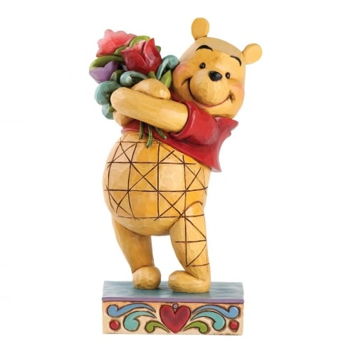 Disney Traditions Friendship Bouquet Figurine