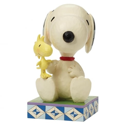 Jim Shore - Peanuts Friendship Comes In All Sizes Big Snoopy Figurine