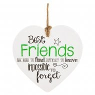 From The Heart Plaque - Best Friends