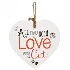 From The Heart Plaque - Cat