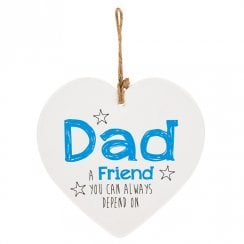 From The Heart Plaque - Dad