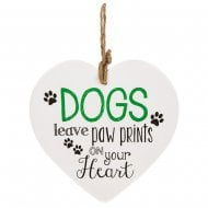 From The Heart Plaque - Dog