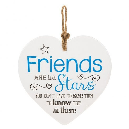 Shudehill Giftware From The Heart Plaque - Friends