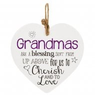 From The Heart Plaque - Grandma