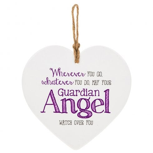 Shudehill Giftware From The Heart Plaque - Guardian Angel