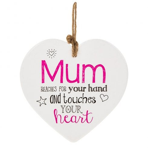 Shudehill Giftware From The Heart Plaque - Mum
