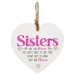From The Heart Plaque - Sisters