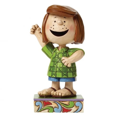 Jim Shore - Peanuts Fun Friend Peppermint Patty Figurine