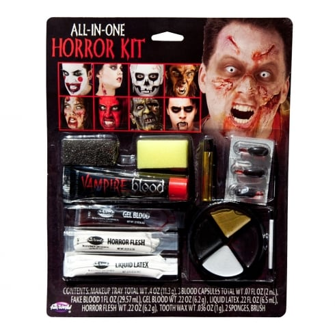 Wicked Costumes Fun World All In One Horror Makeup Kit