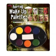 Fun World Horror Makeup Palette 8 Colour