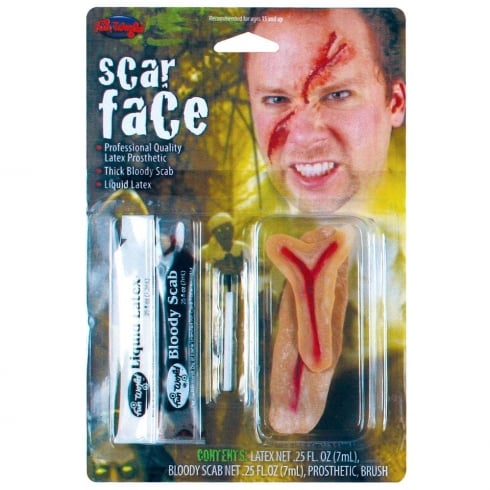 Wicked Costumes Fun World Scar Face Fx Kit