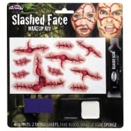 Fun World Slashed Face Makeup Kit