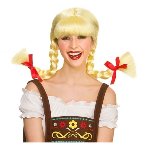 Wicked Costumes Funny Bavarian Beer Girl Wig
