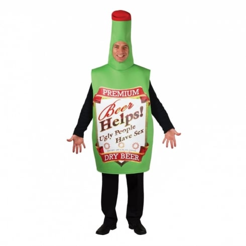 Wicked Costumes Funny Beer Bottle