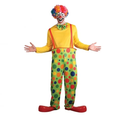 Wicked Costumes Funny Clown (One Size )