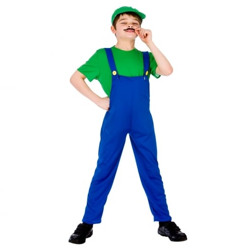 Wicked Costumes Funny Plumber - Green (8-10) Large