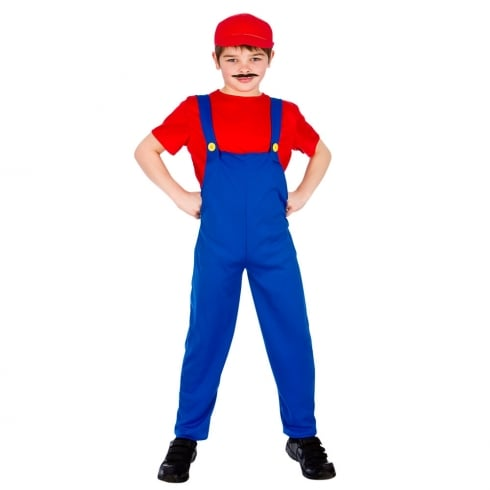 Wicked Costumes Funny Plumber - Red (5-7) Medium