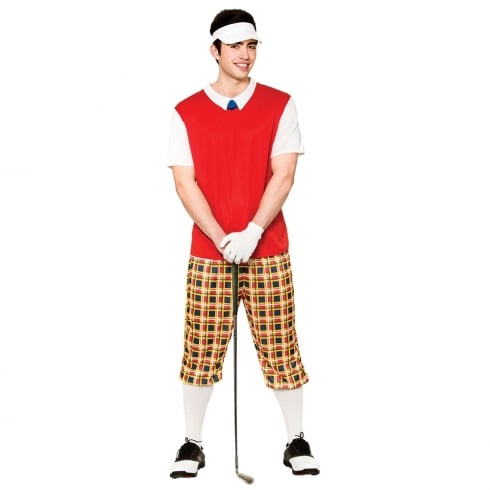 Wicked Costumes Funny Pub Golfer Medium