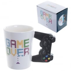Game Over Controller Handle Ceramic Mug