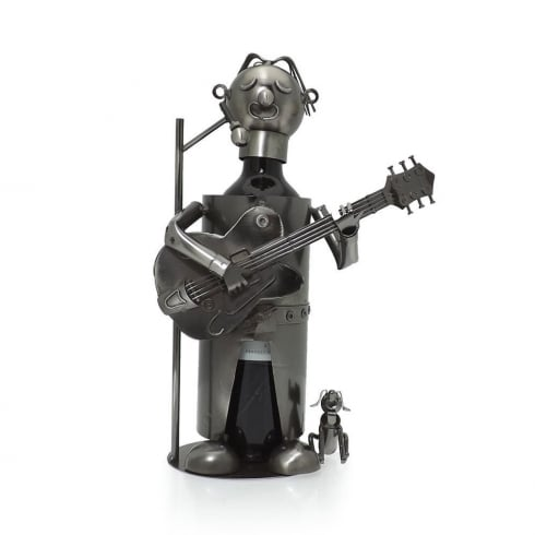 Flame Homeware Gary Guitarist Bottle Holder