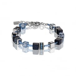 GeoCUBE Dark Blue Bracelet