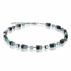 GeoCUBE Dark Green Necklace
