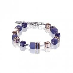 GeoCUBE Purple Bracelet