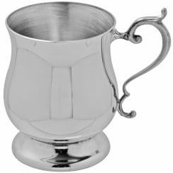 Georgian Childs Pewter Tankard