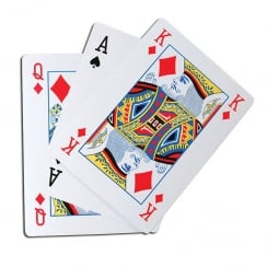Giant Playing Cards 28cm x 21cm