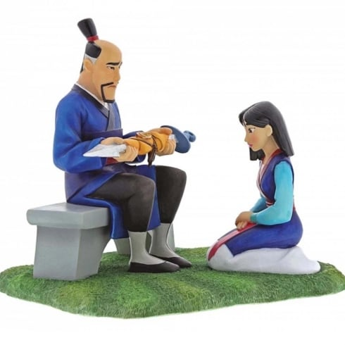Disney Enchanting Collection Gift of Honour - Mulan Figurine