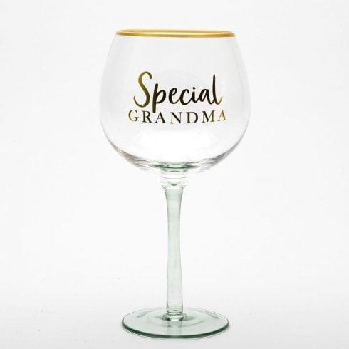 Sophia Gin Glass - Special Grandma