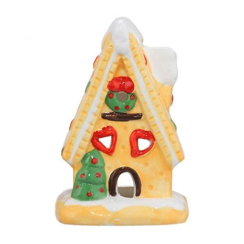 Heart & Home Gingerbread House Tealight Holder