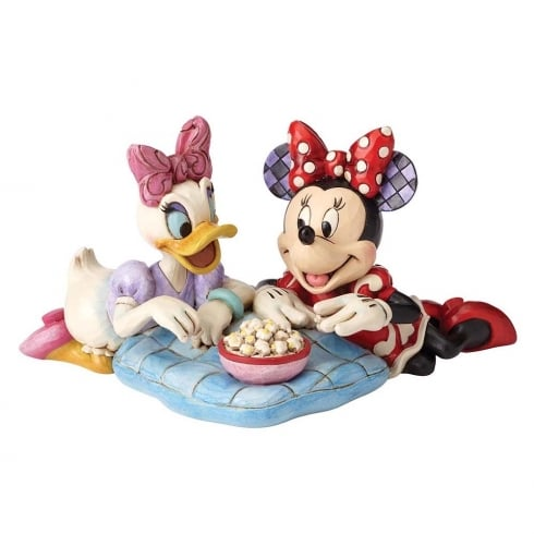 Disney Traditions Girls Night Daisy and Minnie Figurine