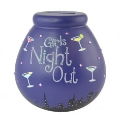 Girls Night Out Ceramic Money Pot