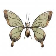 Glass Wing Glow In The Dark Butterfly Pot Hanger