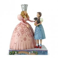 Glinda and Dorothy in Ruby Slippers