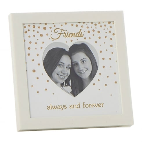 Shudehill Giftware Glitter Dot Friends 4 x 4 Photo Frame