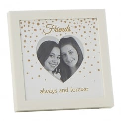 Glitter Dot Friends 4 x 4 Photo Frame