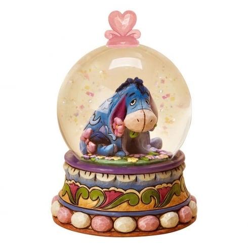 Disney Enchanting Collection Gloom to Bloom Eyore Waterglobe