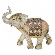 Gold Capiz Elephant Extra Large
