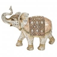 Gold Capiz Elephant Giant