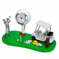 Golf Theme Miniature Clock