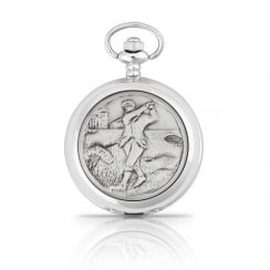 Golfer Pocket Watch