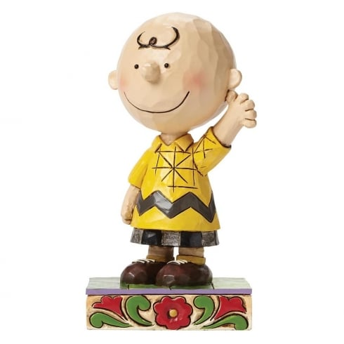 Jim Shore - Peanuts Good Man Charlie Brown Figurine