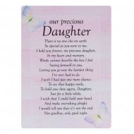 Graveside Cards Memorial-Daughter